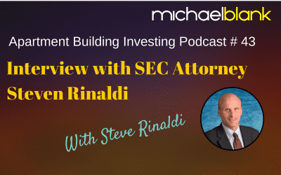MB 043: Interview with SEC Attorney Steven Rinaldi