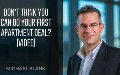 Don't Think You Can Do Your First Apartment Deal? (Video)