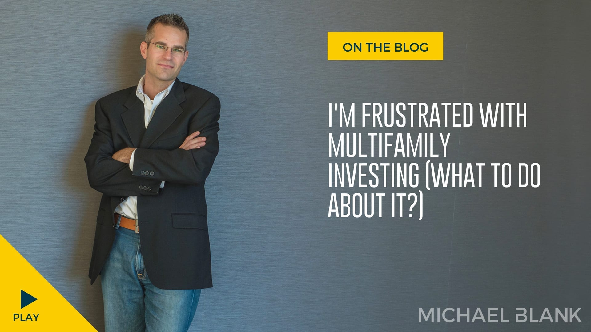 I'm Frustrated with Multifamily Investing (What To do About It?)