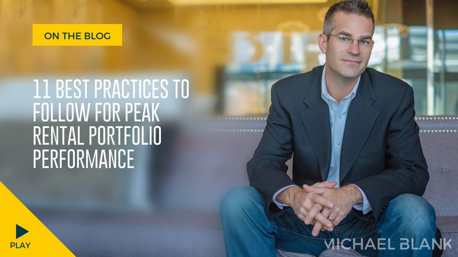 11 Best Practices to Follow for Peak Rental Portfolio Performance